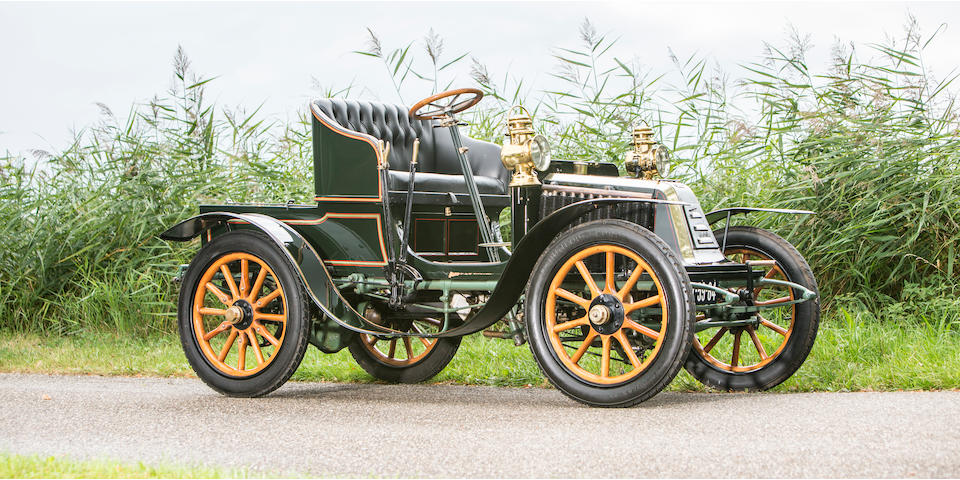 1902 Renault 8hp Type G Two-Seater  Chassis no. 114 Engine no. 7201