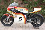 The ex-John Newbold, Texaco Heron Team Suzuki,1975 Suzuki TR750 XR11 Racing Motorcycle Frame no. GT750 62863