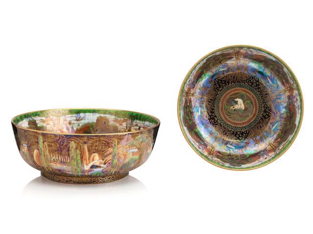 A Wedgwood Fairyland Lustre Bowl by Daisy Makeig-Jones 1920s