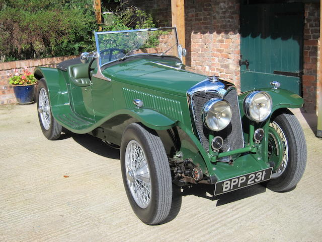 1935 Riley 12-4 'Imp' Special
