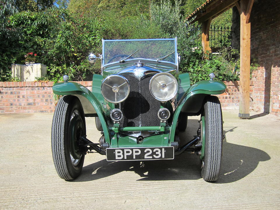 1935 Riley 12/4 'Imp' Special  Chassis no. 22T1980 Engine no. T1980
