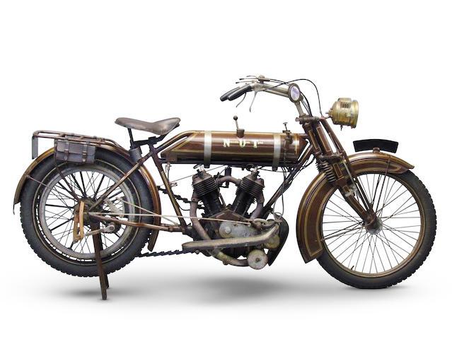1913 NUT 770cc 6HP Twin Frame no. 015 Engine no. 30368