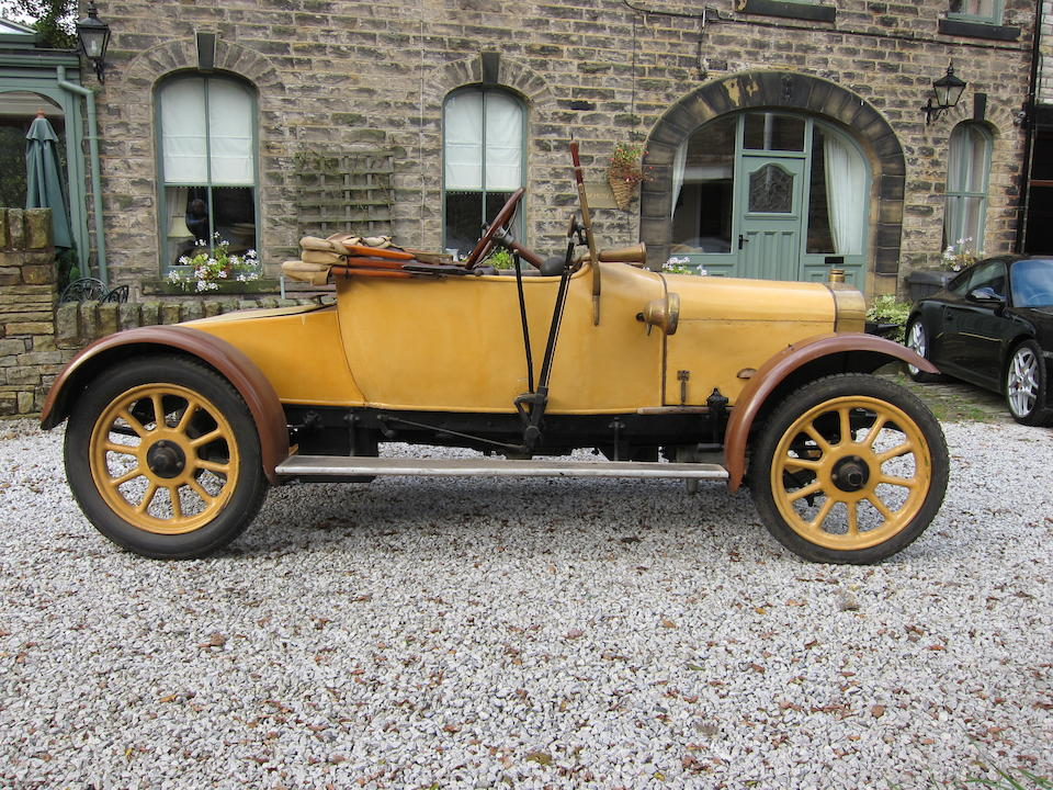 c.1920 Hillman Two-Seat Tourer with Dickey  Chassis no. H124R Engine no. 4KR