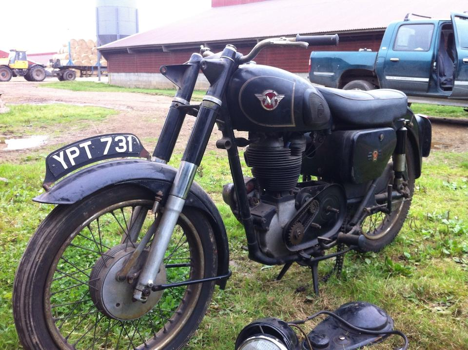 c.1957 Matchless 497cc G80 Project Frame no. to be advised Engine no. 57/G80 131230