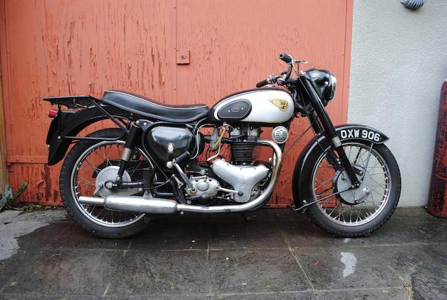 Property of a deceased's estate,1954 BSA 646cc A10 'Golden Flash' Frame no. CA7 8726 Engine no. DA10 2084