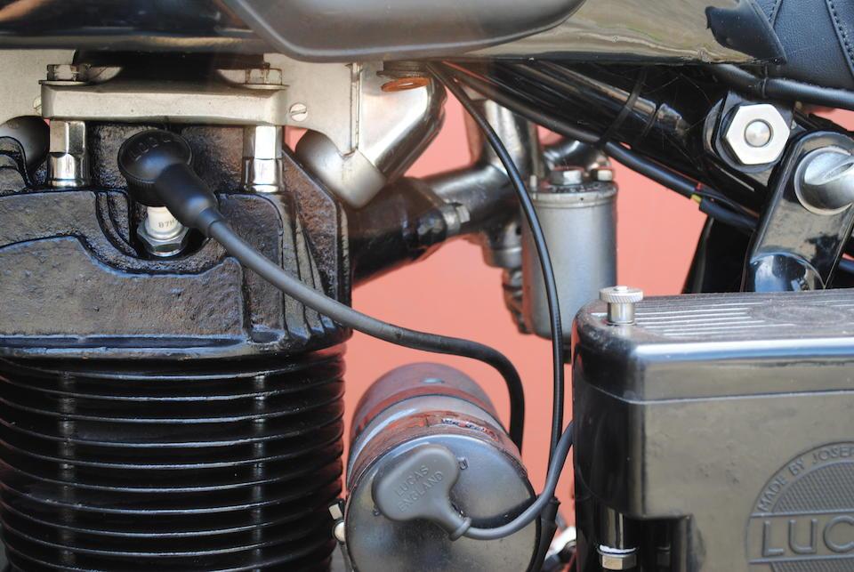 Property of a deceased's estate,1937 Sunbeam 599cc Model 9 Series 2 Frame no. 28/384 Engine no. 28/138