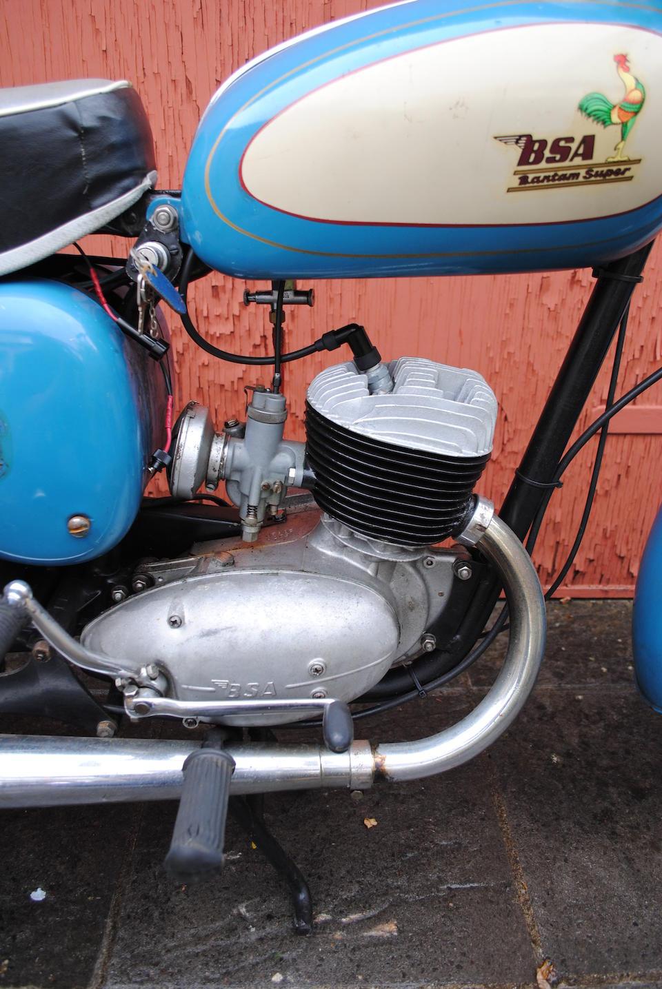 Property of a deceased's estate,1962 BSA 172cc D7 Bantam Super Frame no. to be advised Engine no. ED7B 26820
