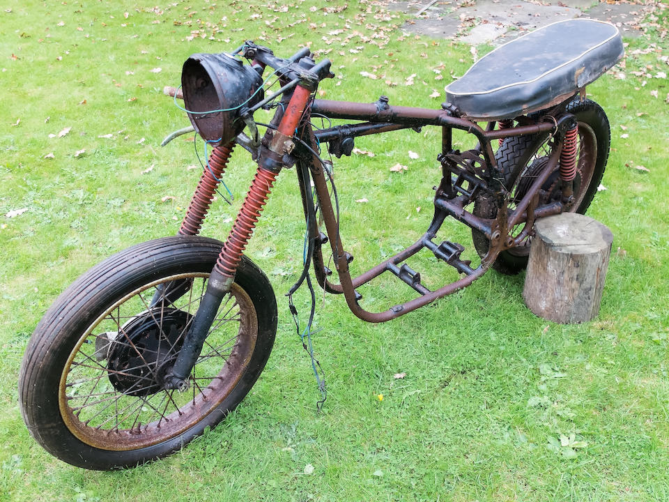 Property of a deceased's estate,c.1958 BSA A7 Rolling Chassis  Frame no. FA7 7097