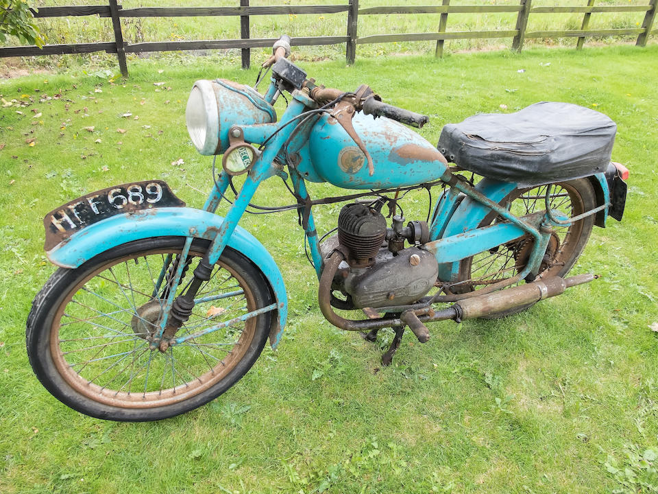 Property of a deceased's estate,1954 Francis-Barnett 125cc Model 66 Kestrel Frame no. U2486 Engine no. 618A 6219
