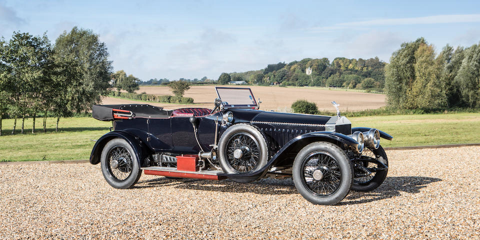 1912 Rolls-Royce 40/50hp Silver Ghost Tourer  Chassis no. 2142 Engine no. 44A