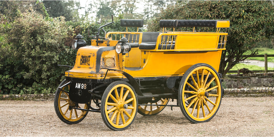 1898 Daimler Twin-Cylinder 6hp Wagonette  Engine no. 1148