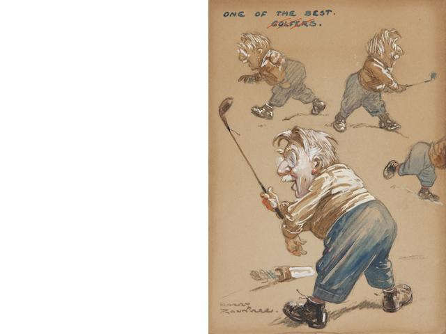 Harry Rountree (British, 1878-1950) 'One of the best golfers' (S.W. Barnes)