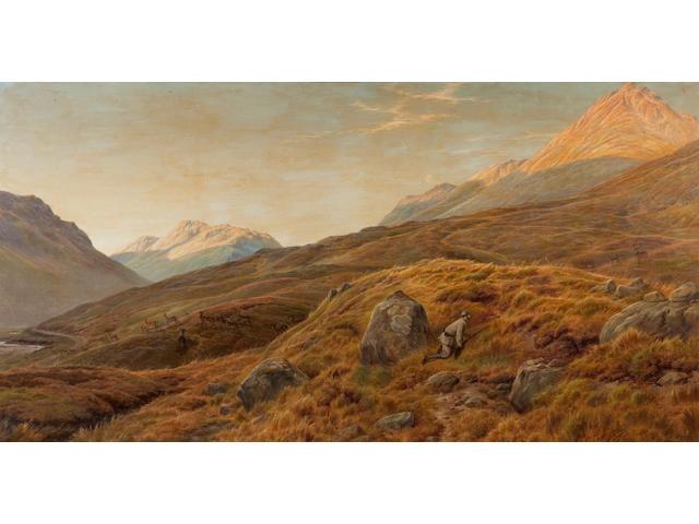 Charles Jones (British, 1866-1959) Deer Stalking