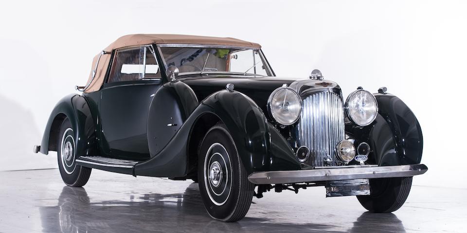 Une des 25 unités de LG6 cabriolet à châssis court,Lagonda 4½-Litre LG6 châssis court cabriolet 1938