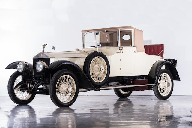 1921 Rolls-Royce 40/50 HP Silver Ghost Coupé Cabriolet Chassis no. 32SG