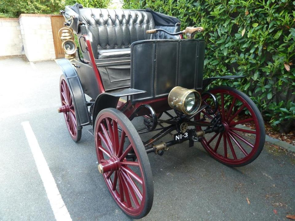 The people's choice at The LBVCR Regent Street Concours 2005,1900 Cleveland Sperry System Electric Three-Seater Stanhope