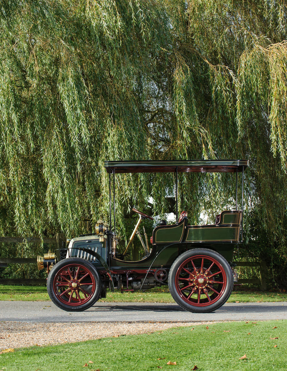 1901 Panhard et Levassor Twin-Cylinder 7hp Rear-Entrance Tonneau  Chassis no. 2881 Engine no. 2881