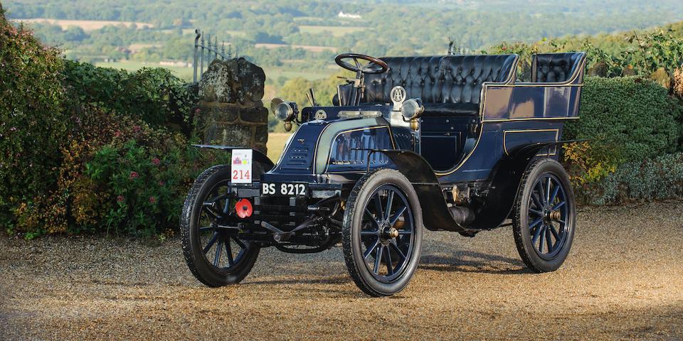 1903 Malicet et Blin 8hp Four-Seater Rear-Entrance Tonneau   Chassis no. 6 Engine no. 13379