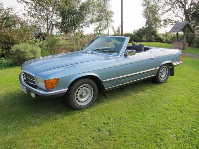 1978 Mercedes-Benz 350SL Automatic Convertible  Chassis no. 10704322013599 Engine no. 11698422002497