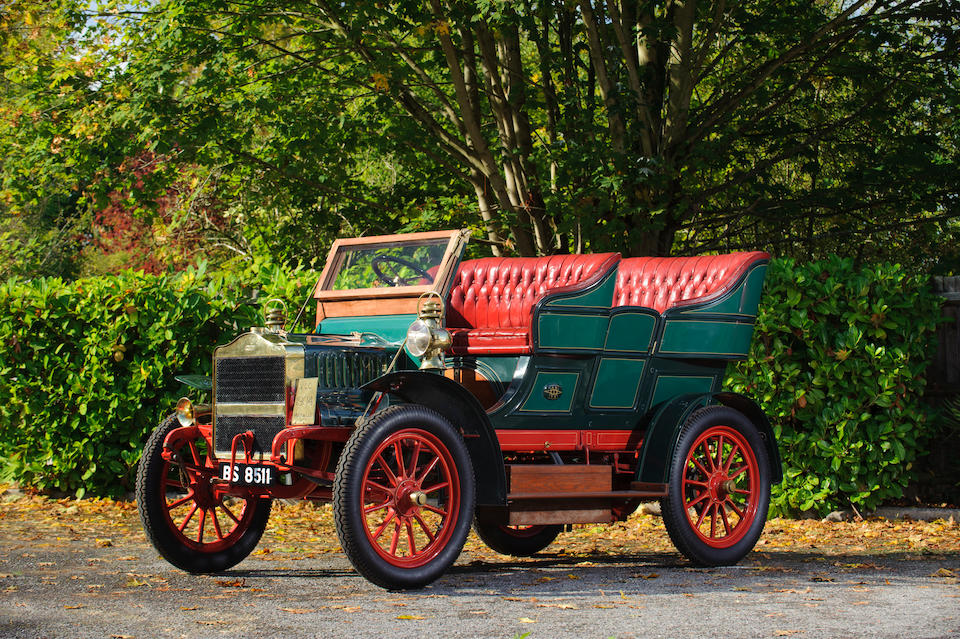 1904 Maxwell 16hp Model H Twin-Cylinder Side-Entrance Tonneau  Engine no. H238