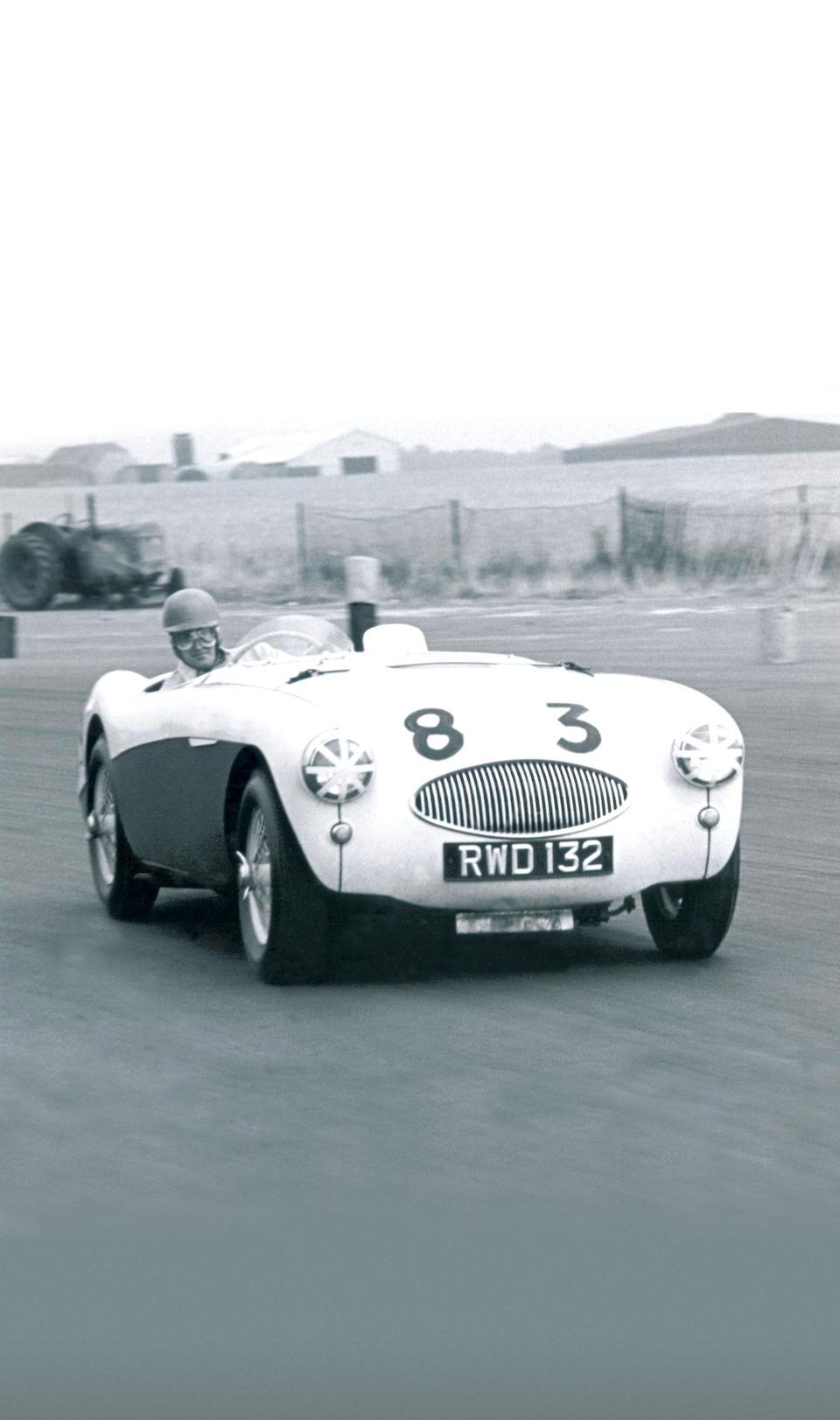 'RWD 132' - The ex-John Dalton, Arthur Carter,1955 Austin-Healey 100S Sports-Racing Two-Seater  Chassis no. AHS 3702