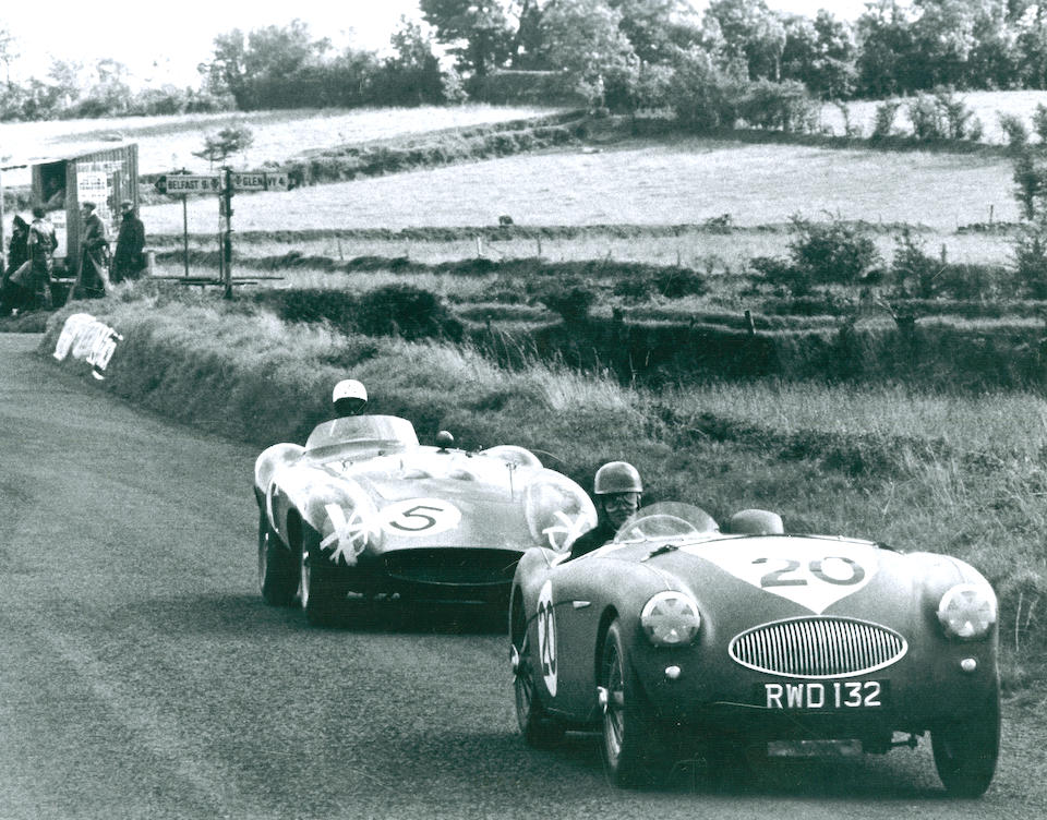 'RWD 132' - The ex-John Dalton, Arthur Carter,1955 Austin-Healey 100S Sports-Racing Two-Seater  Chassis no. AHS 3702