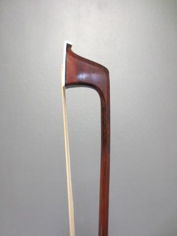 A nickel mounted Viola Bow by Adam circa 1840 (1)
