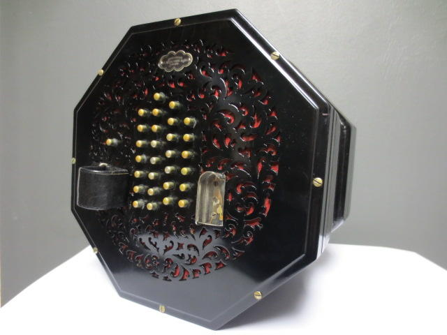 A Baritone Concertina by Wheatstone, London (2)