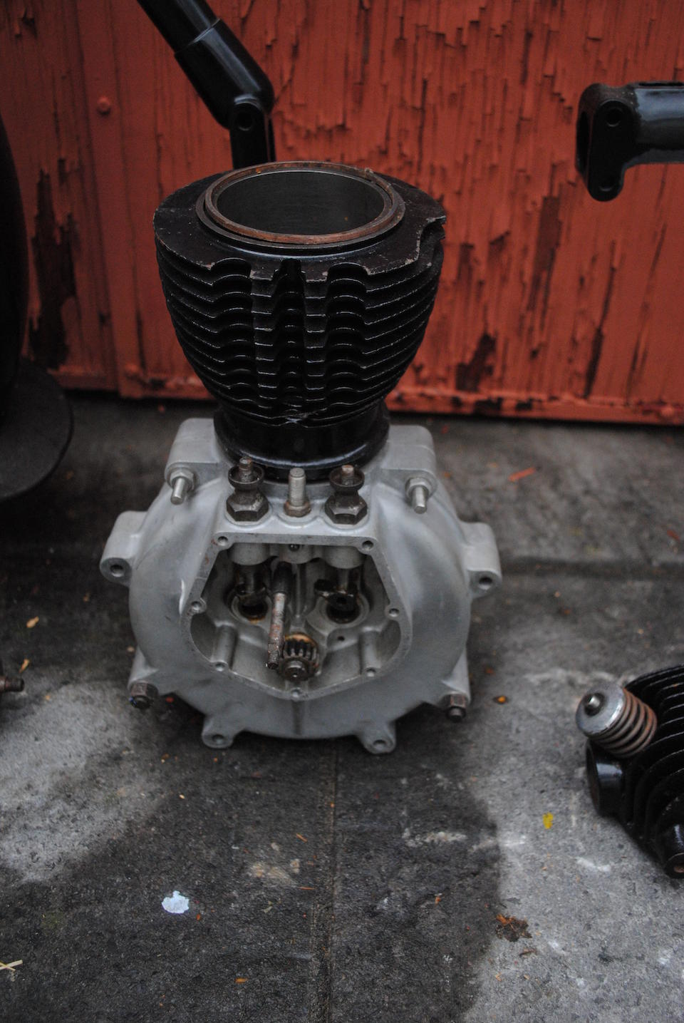 A believed,c.1926 AJS G8 project Engine no. G89219