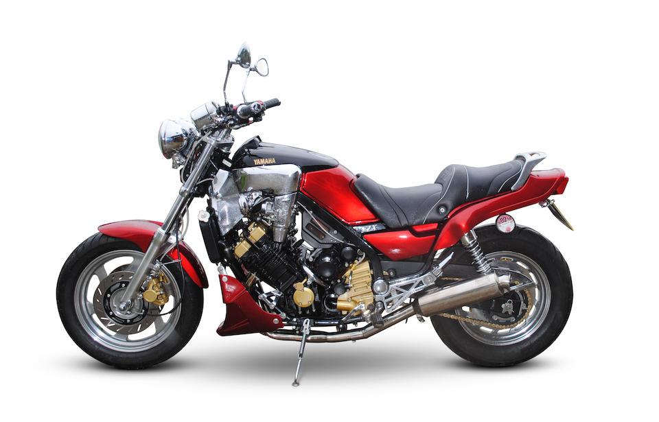 1989 Yamaha FZX750 Fazer Frame no. 2JE-001934 Engine no. 2JE-001934