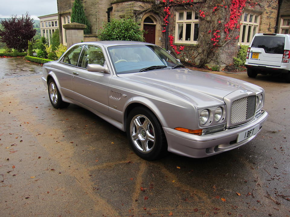 One of only 12 right-hand drive examples,2001 Bentley Continental R Le Mans Coupé  Chassis no. SCBZB25E62CH01764 Engine no. 103182L410I/T2W