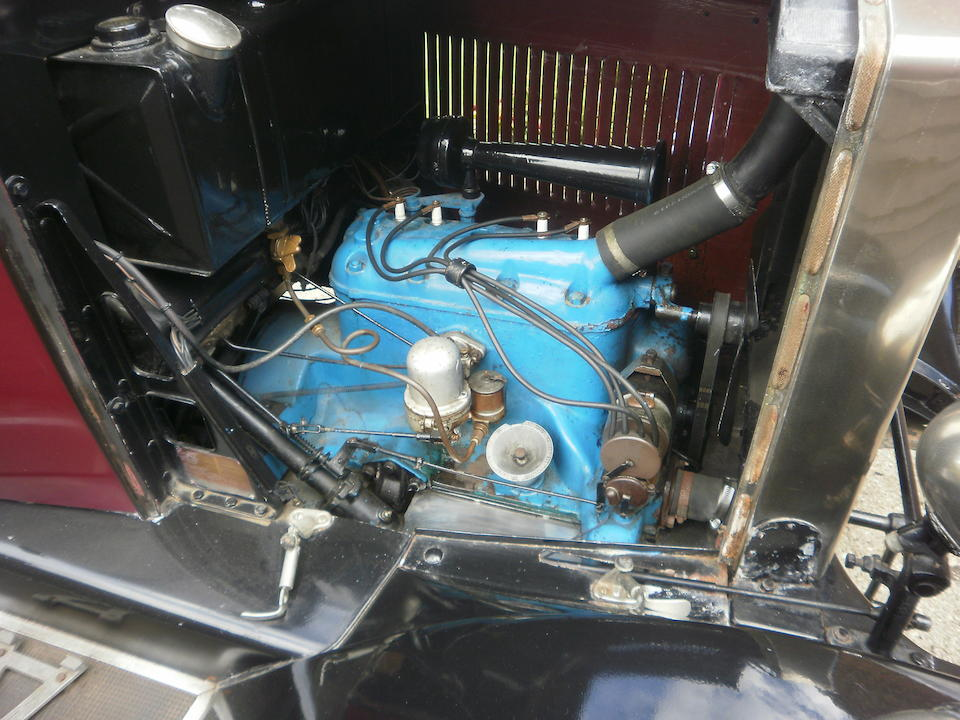 1927 Morris Oxford 13.9hp Saloon  Chassis no. 196455 Engine no. 198894