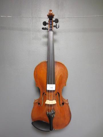 A French Violin attributed to Salomon, Paris  circa 1770 (2)