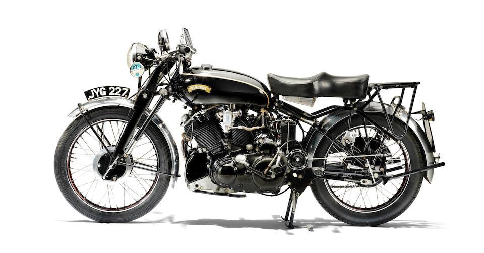 1950 Vincent 998cc Black Shadow Series C Frame no. RC6723B Engine no. F10AB/1B/4823