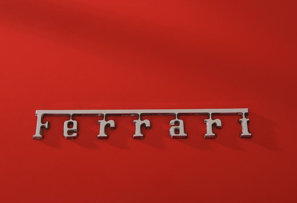 From the Maranello Rosso Collection,1969 Ferrari 365 GTB/4 Berlinette Competitizone Conversion  Chassis no. 12719 GT Engine no. 12719 GT