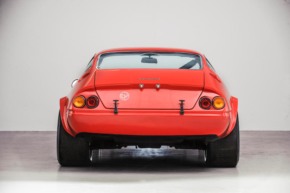 From the Maranello Rosso Collection,1969 Ferrari 365 GTB/4 Berlinette Competitizone Conversion  Chassis no. 12719 GT Engine no. 12719 GT