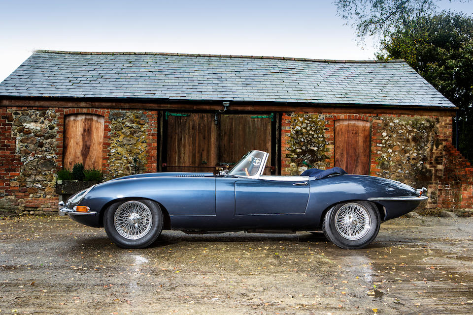 1964 Jaguar E-Type 'Series 1' 3.8-Litre Roadster  Chassis no. 881079 Engine no. RA5525-9