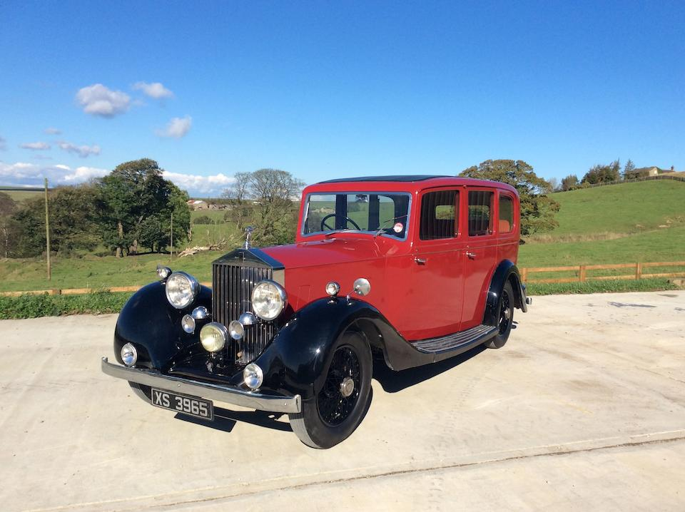 1935 Rolls-Royce 20/25hp Limousine  Chassis no. GBK73 Engine no. F29V