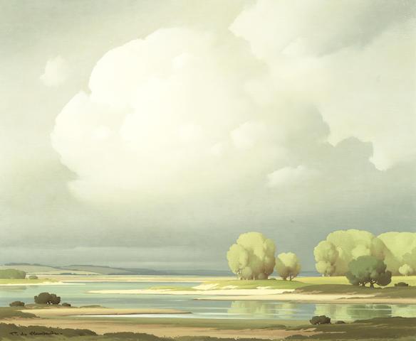 Pierre de Clausade (French, 1910-1976) 'Val de Loire'