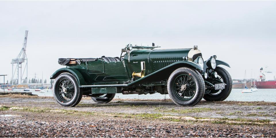 1929 Bentley 4½-Litre Tourer Coachwork in the style of Vanden Plas  Chassis no. HB3407 Engine no. HB3406