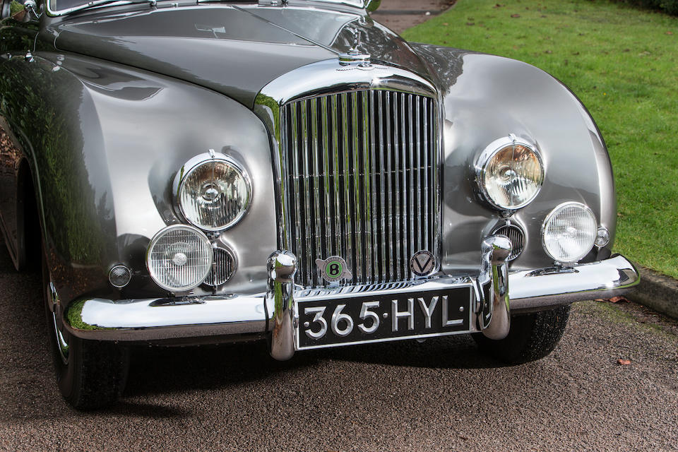 1953 Bentley R-Type Continental 4½ -Litre Sports Saloon  Chassis no. BC8C Engine no. BCC8