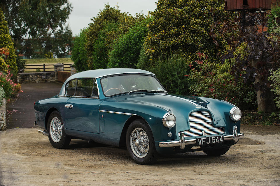 1956 Aston Martin DB2/4 MkII Fixed-Head Coupé  Chassis no. AM300/1106 Engine no. VB6J/633