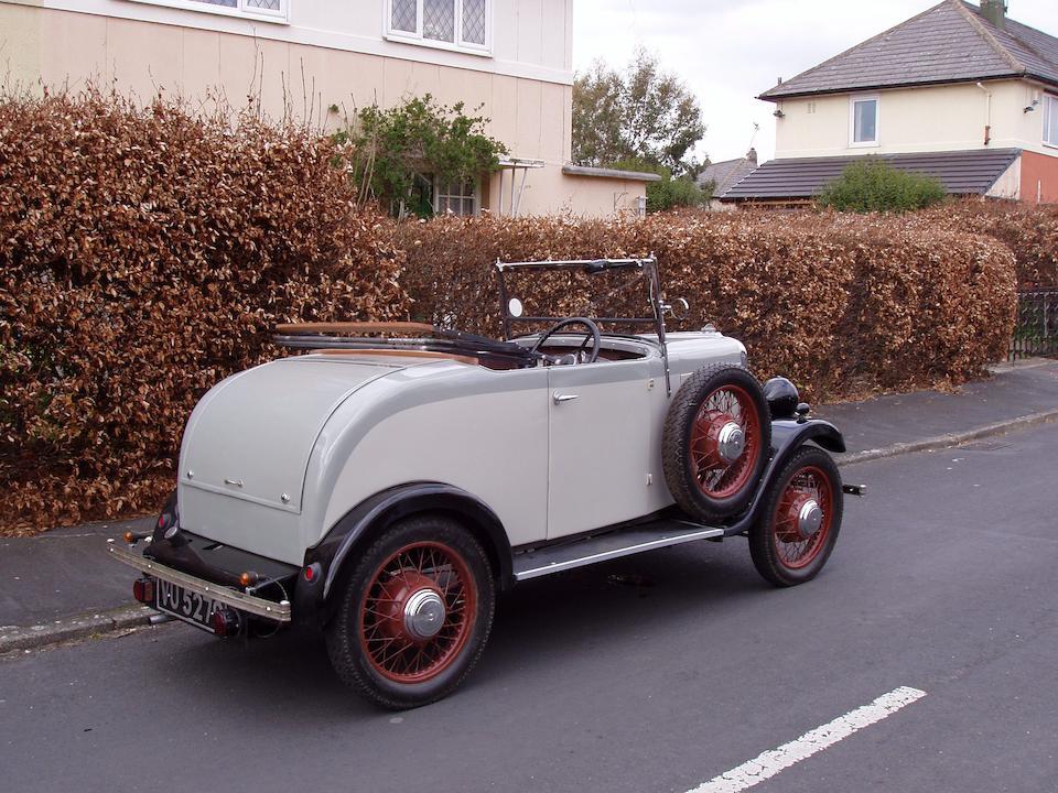 1931 Singer Junior Tourer  Chassis no. 35857 Engine no. 37076