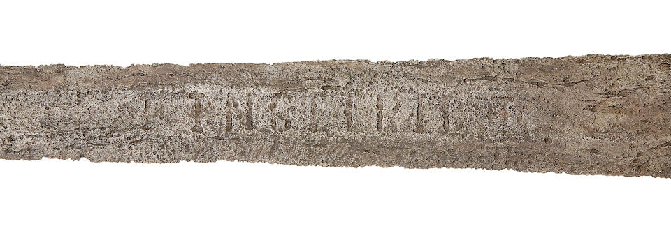 A Rare Sword Of Viking Type With Ingelri Inscription
