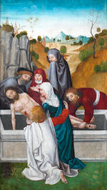 Ludwig Schongauer (Augsburg circa 1440-1494) The Arrest of Christ; The Burial of Christ