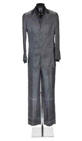 George Michael: A suit worn on stage by George Michael during his 25 Live Tour, 2006-2008,