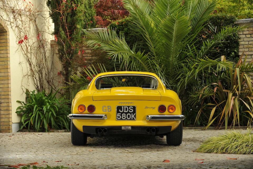 Originally the property of Sir Elton John, 29,200 miles from new 1972 Ferrari Dino 246GT Coupé  Chassis no. 03300 Engine no. 03300