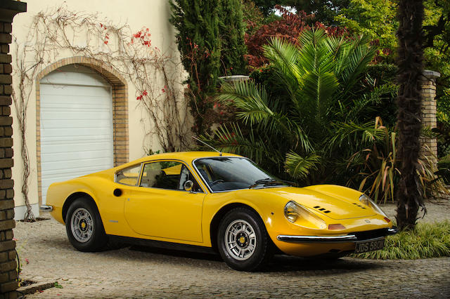 Originally the property of Sir Elton John, 29,200 miles from new 1972 Ferrari Dino 246GT Coupé  Chassis no. 03300 Engine no. 03300