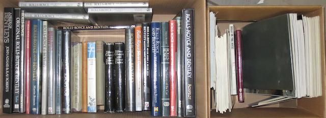 Books relating to Rolls-Royce and Bentley, ((Qty))