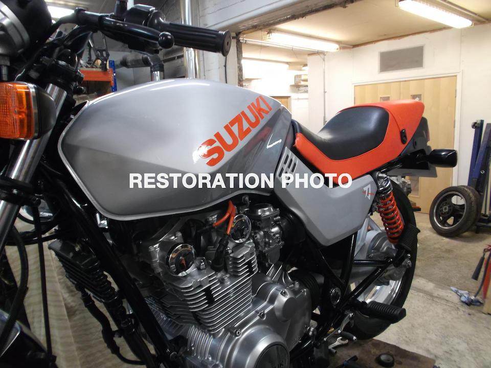 1982 Suzuki GS650 Katana Frame no. GS650G 103977 Engine no. GS650G 115520